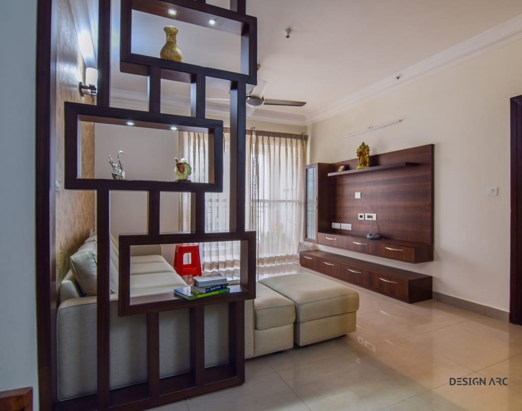 Interior Design Bangalore 2BHK Apartment by Design Arc Interiors