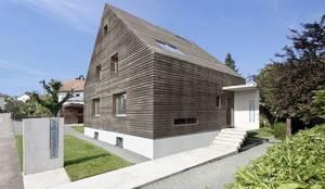 Casas de estilo moderno por [lu:p] Architektur GmbH