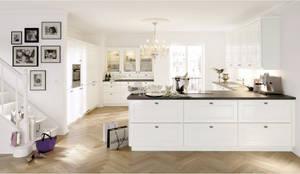 Alno küchen fronten  Küchenfronten - weiß von ALNO AG | homify