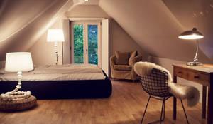 غرفة نوم تنفيذ Heike Gebhard Wohnen