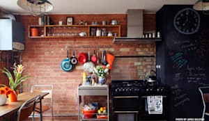 Dining: industrial Kitchen by Cassidy Hughes Interior Design & Styling