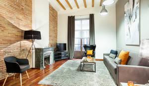 غرفة المعيشة تنفيذ Home Deco Decoración
