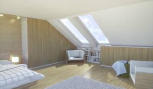 begehbarer kleiderschrank unter schr ge by meine m belmanufaktur gmbh homify. Black Bedroom Furniture Sets. Home Design Ideas