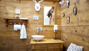 Ванные комнаты в . Автор – vollmilch. Das Architekturbüro.