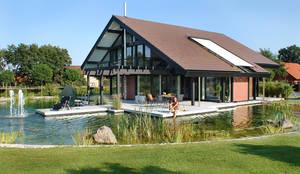 Projekty,  Ogród zaprojektowane przez DAVINCI HAUS GmbH & Co. KG