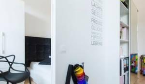 Büro Und Schlafzimmer In Einem Von TrÄume - Ideen Raum Geben | Homify Schlafzimmer Und Bro In Einem Raum