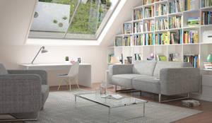 Salon de style de style Moderne par deinSchrank.de GmbH