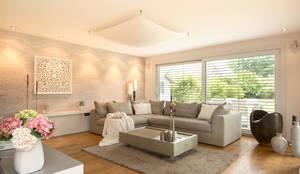 Salon de style de style Moderne par Luna Homestaging