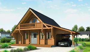 ferienhaus kubu von thule blockhaus gmbh homify. Black Bedroom Furniture Sets. Home Design Ideas