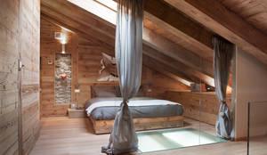 Projekty,  Sypialnia zaprojektowane przez archstudiodesign