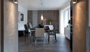 wohnraum wandgestaltung mit marmorputz buchholzwesterwald - Wandgestaltung Treppenhaus Einfamilienhaus