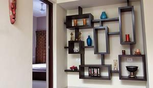 Salas / recibidores de estilo moderno por Cozy Nest Interiors