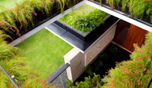 Jardines de estilo moderno por Guz Architects