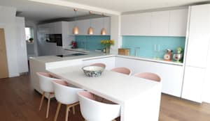 Projekty,  Kuchnia zaprojektowane przez PTC Kitchens
