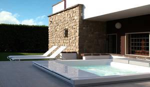 Projekty,  Basen zaprojektowane przez GRITTI ROLLO | Stefano Gritti e Sofia Rollo