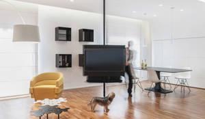 Salon de style de style Moderne par Tramas