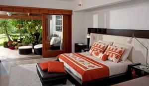 Dormitorios de estilo moderno por Taller Luis Esquinca