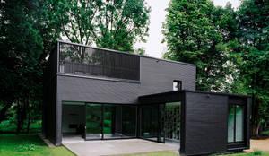 c95 architekten privathaus bei berlin homify. Black Bedroom Furniture Sets. Home Design Ideas