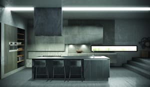 Cuisine de style de style Moderne par Deseo