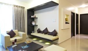 Salas de estar minimalistas por ZERO9