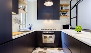 industrial Kitchen by NOMADE ARCHITETTURA E INTERIOR DESIGN