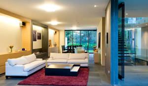 modern Living room by Serrano Monjaraz Arquitectos
