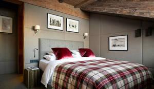 skandinavische Schlafzimmer von Architectural Interiors + Superyacht Photographer