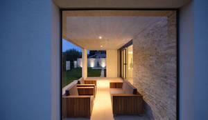 Einfamilienhaus in Widnau: moderne Häuser von Architekturfotografie Sabrina Scheja