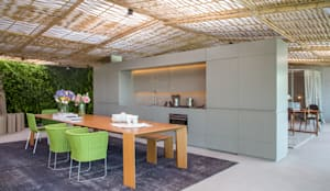 غرفة السفرة تنفيذ Gisele Taranto Arquitetura