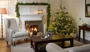 ​Christmas Inspiration: The Tree: country Living room by LOMBOK