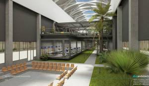 D.A. Mimarlık – ATEŞ ÇELİK FABRİKA ve OFİSLERİ:  tarz Ofis Alanları