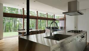 キッチン~029那須Hさんの家: atelier137 ARCHITECTURAL DESIGN OFFICEが手掛けたキッチンです。
