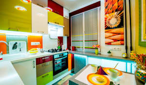 Cozinhas ecléticas por Сделано со вкусом на ТНТ