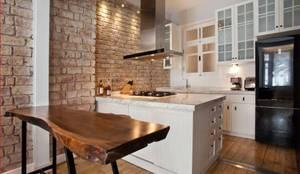 Cozinhas modernas por DICLE HOKENEK ARCHITECTURE