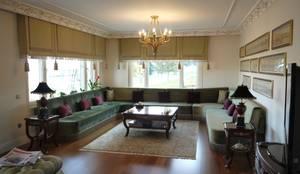 PİLE PERDE – Perde Tasarım: klasik tarz tarz Oturma Odası