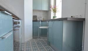 Projekty,  Kuchnia zaprojektowane przez Parisdinterieur