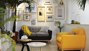 modern Living room by Clorofilia
