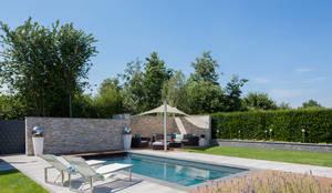 Pool: moderner Pool von Löchte GmbH