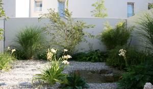 Atriumgarten München Riem: moderner Garten von Blumen & Gärten