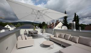 Dachterrasse:  Terrasse von Neugebauer Architekten BDA
