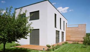 Projekty,  Dom pasywny zaprojektowane przez Abendroth Architekten