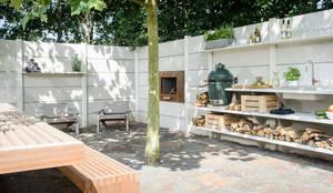 Giardino in stile In stile Country di NewLook Brasschaat Keukens