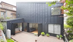 白砂孝洋建築設計事務所의  베란다