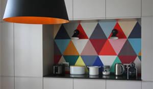 Dossier papier peint : Cuisine de style de style Moderne par Camille Hermand Architectures