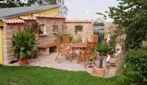 Jardin de style de style Méditerranéen par Rimini Baustoffe GmbH