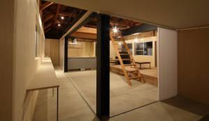 スタディコーナー(オープン): ARCHIXXX眞野サトル建築デザイン室が手掛けた書斎です。,オリジナル
