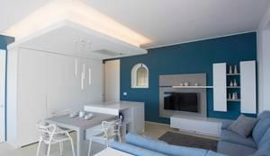 غرفة المعيشة تنفيذ Architetto ANTONIO ZARDONI