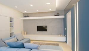 modern Living room by Architetto ANTONIO ZARDONI
