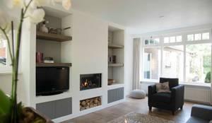 غرفة المعيشة تنفيذ Hemels Wonen interieuradvies en ontwerp