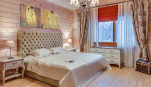 Projekty,  Sypialnia zaprojektowane przez Be In Art